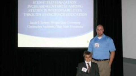 Ohio's STEM Ability Alliance (OSAA) Scholar Presents at the Geological Society of America Annual Meeting