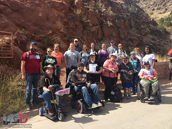 Group photo in the field in the GSA Denver Trip.