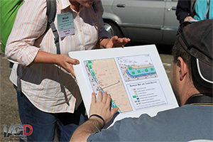 GSA Tactile Maps introduced in the field at Denver