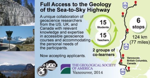 Accessible Geology Field Course In Vancouver, British Columbia