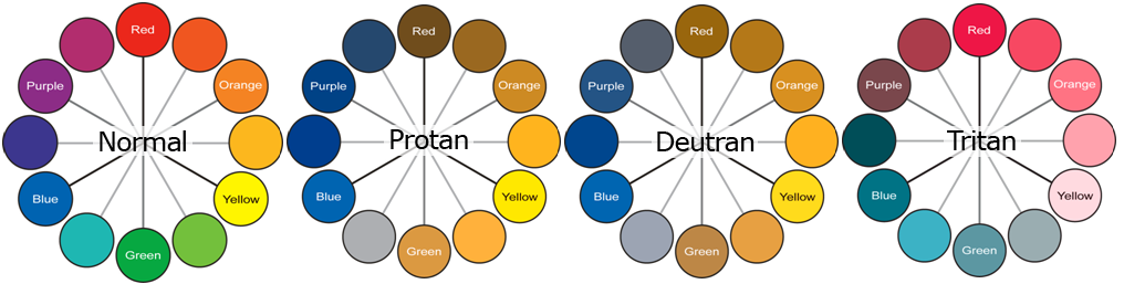 Color Vision Deficiency Chart (CVD)