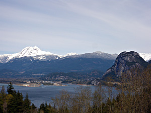Stawamus Chief Mountain (photo by Brett Gilley)