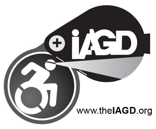 IAGD - International Association for Geoscience Diversity Accessability Logo