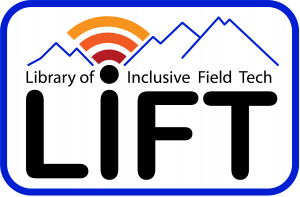Logo for the LIFT kit shows a mountain range and a wi-fi signal in a valley that looks like a sun rise.